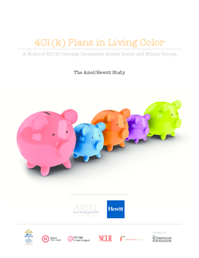 401(k) Plans in Living Color: A Study of 401(k) Savings Disparities Across Racial and Ethnic Groups
