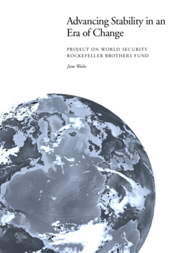 Advancing Stability in an Era of Change