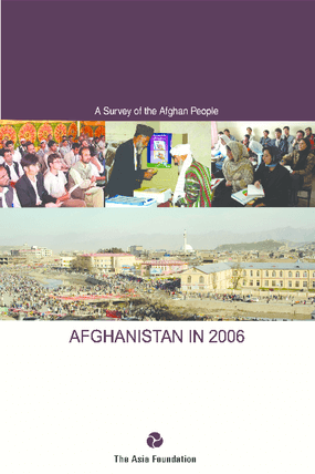 Afghanistan in 2006: A Survey of the Afghan People