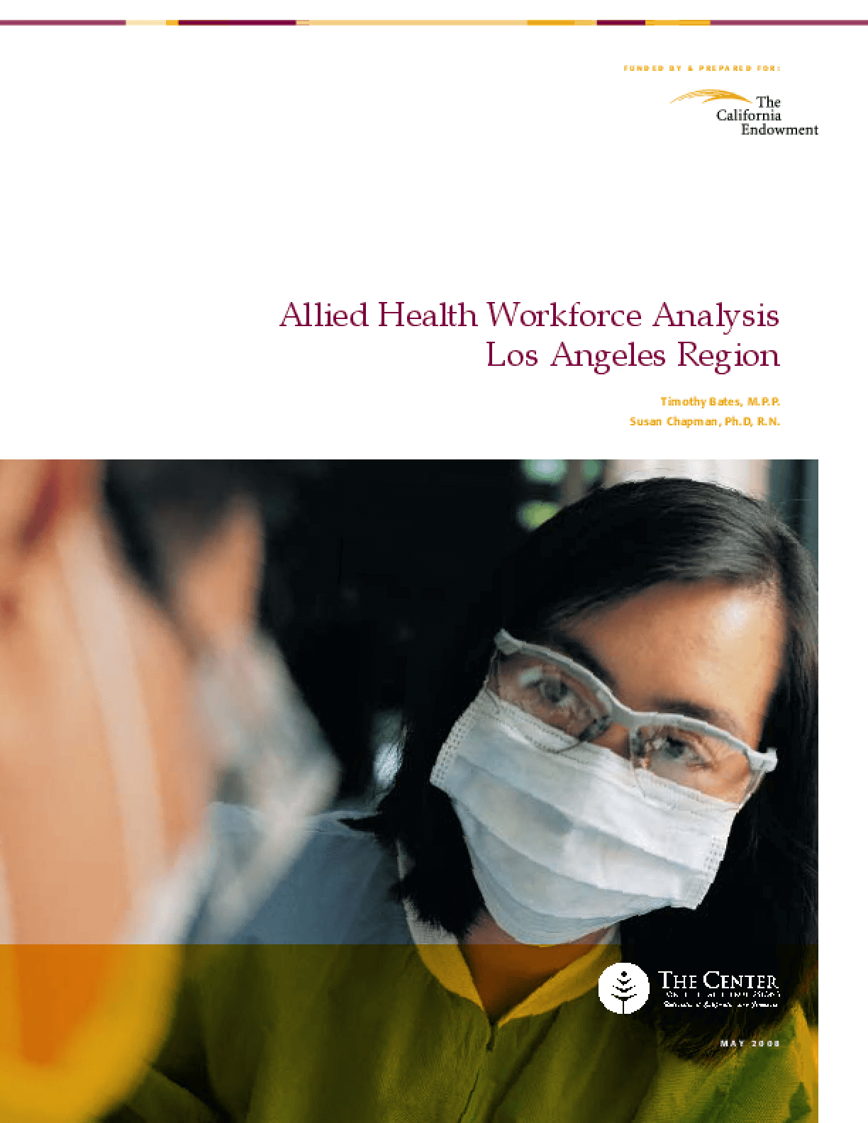 Allied Health Regional Workforce Analysis: Los Angeles
