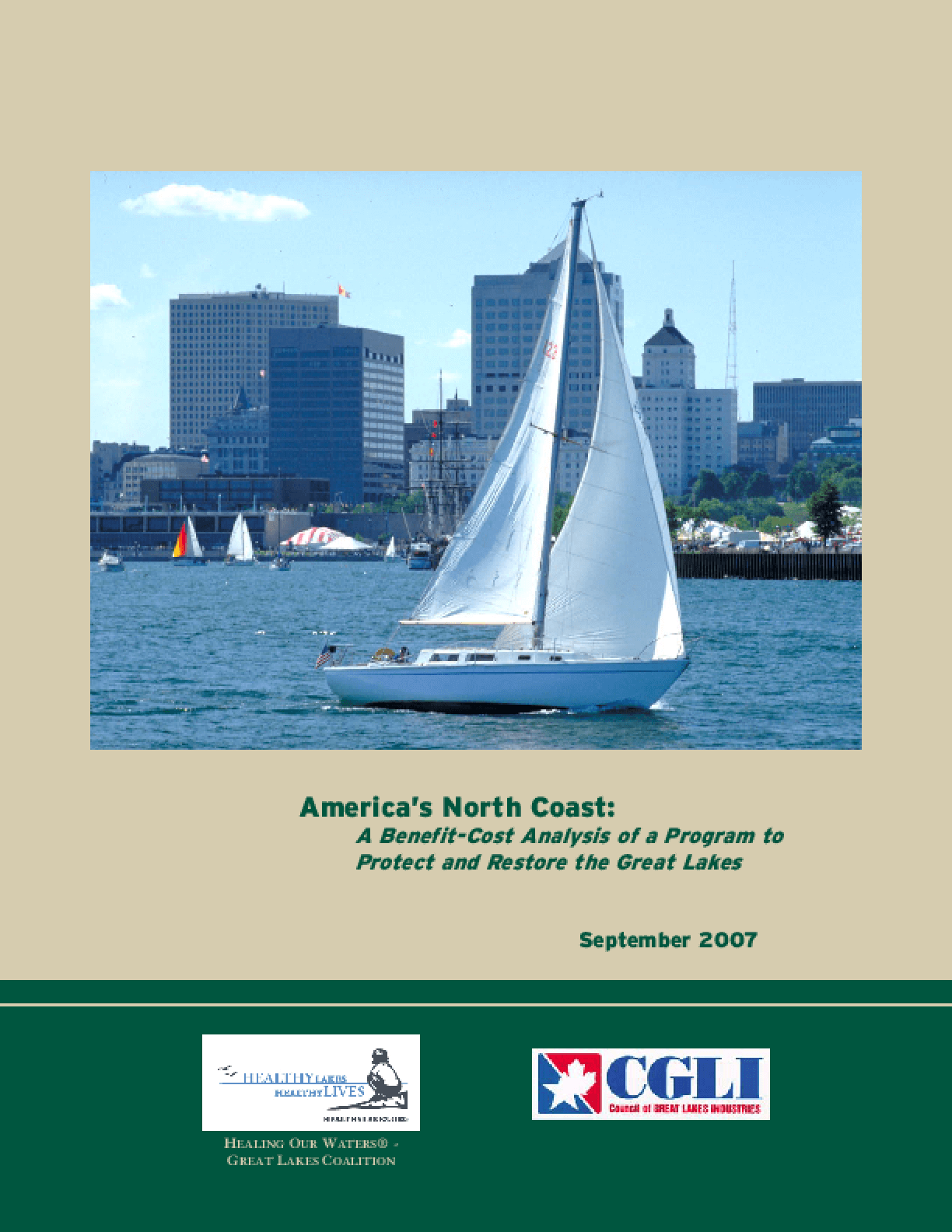 America's North Coast: A Benefit-Cost Analysis of a Program to Protect and Restore the Great Lakes