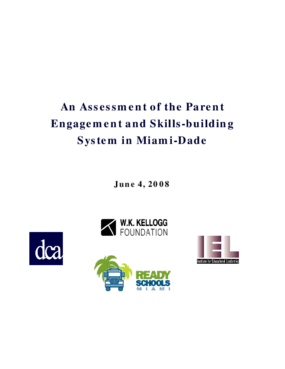 An Assessment of the Parent Engagement and Skills-Building System in Miami-Dade