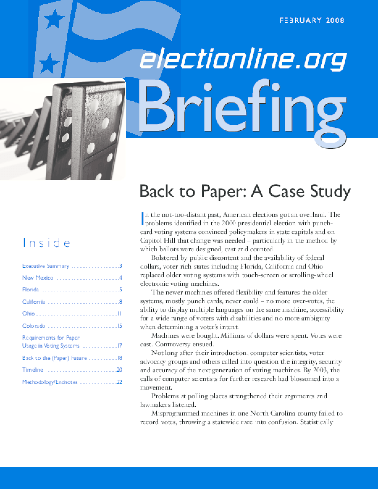 Back to Paper: A Case Study