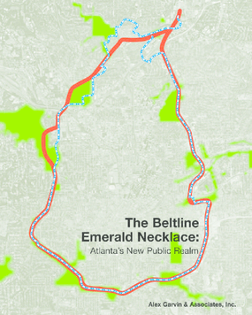 The Beltline Emerald Necklace: Atlanta's New Public Realm