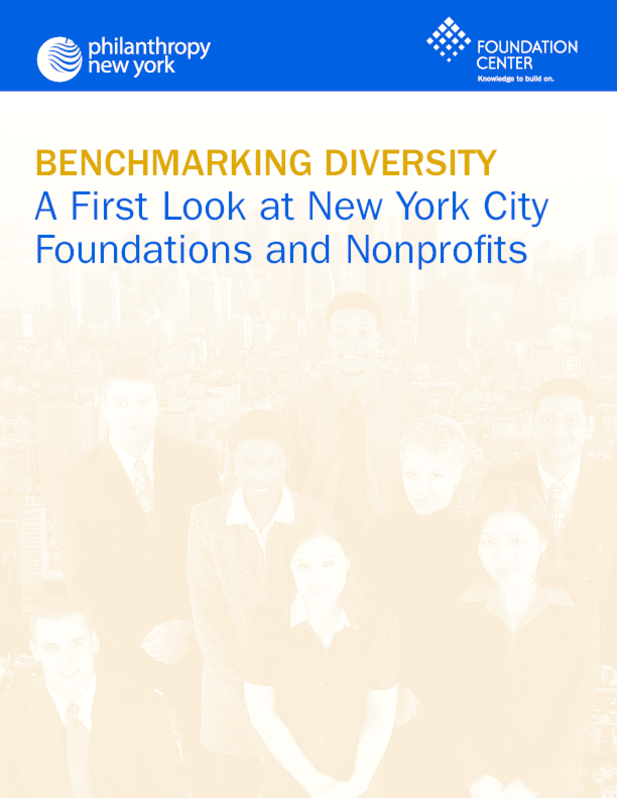 Benchmarking Diversity: A First Look at New York City Foundations and Nonprofits