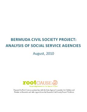 Bermuda Civil Society Project: Analysis of Social Service Agencies