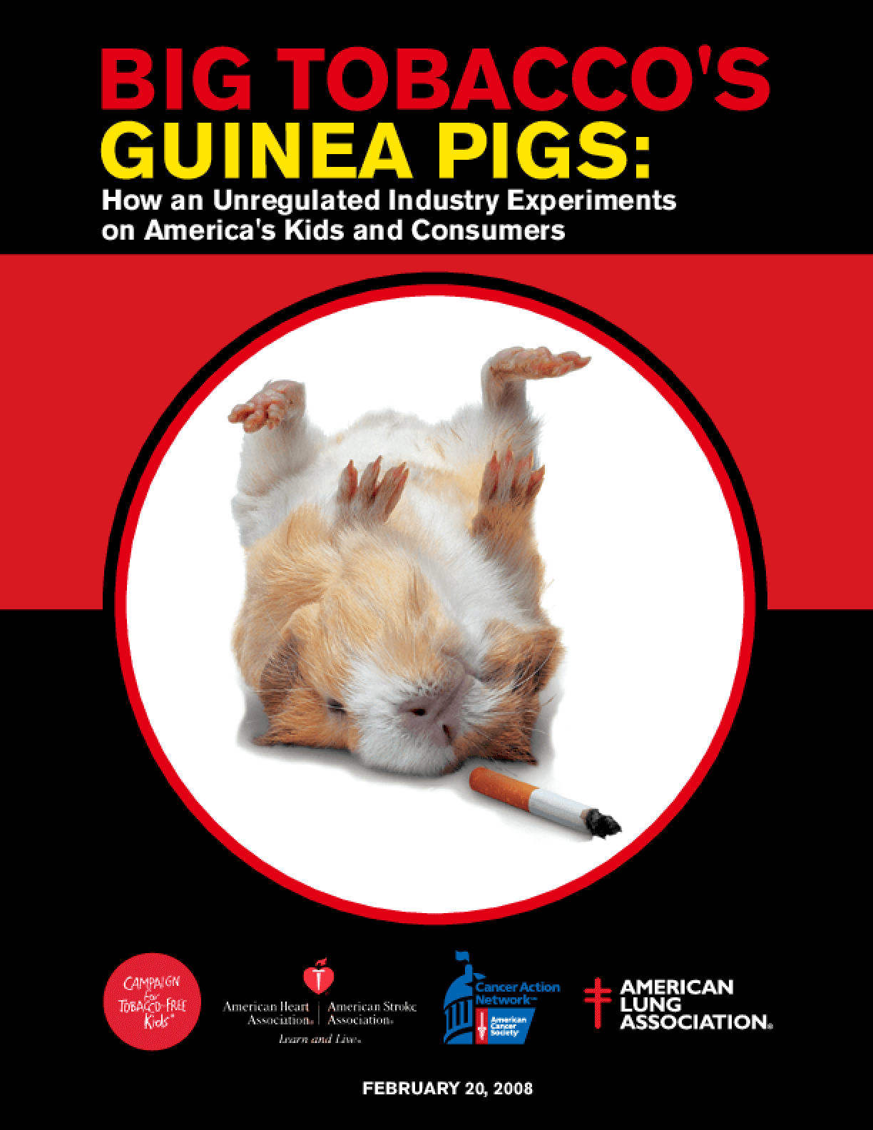 Big Tobacco's Guinea Pigs: How an Unregulated Industry Experiments on America's Kids and Consumers