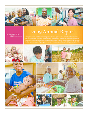 Bill & Melinda Gates Foundation - 2009 Annual Report