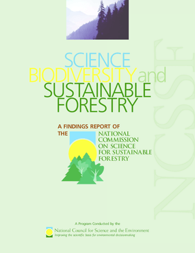 Biodiversity and Sustainable Forestry: State of the Science Review