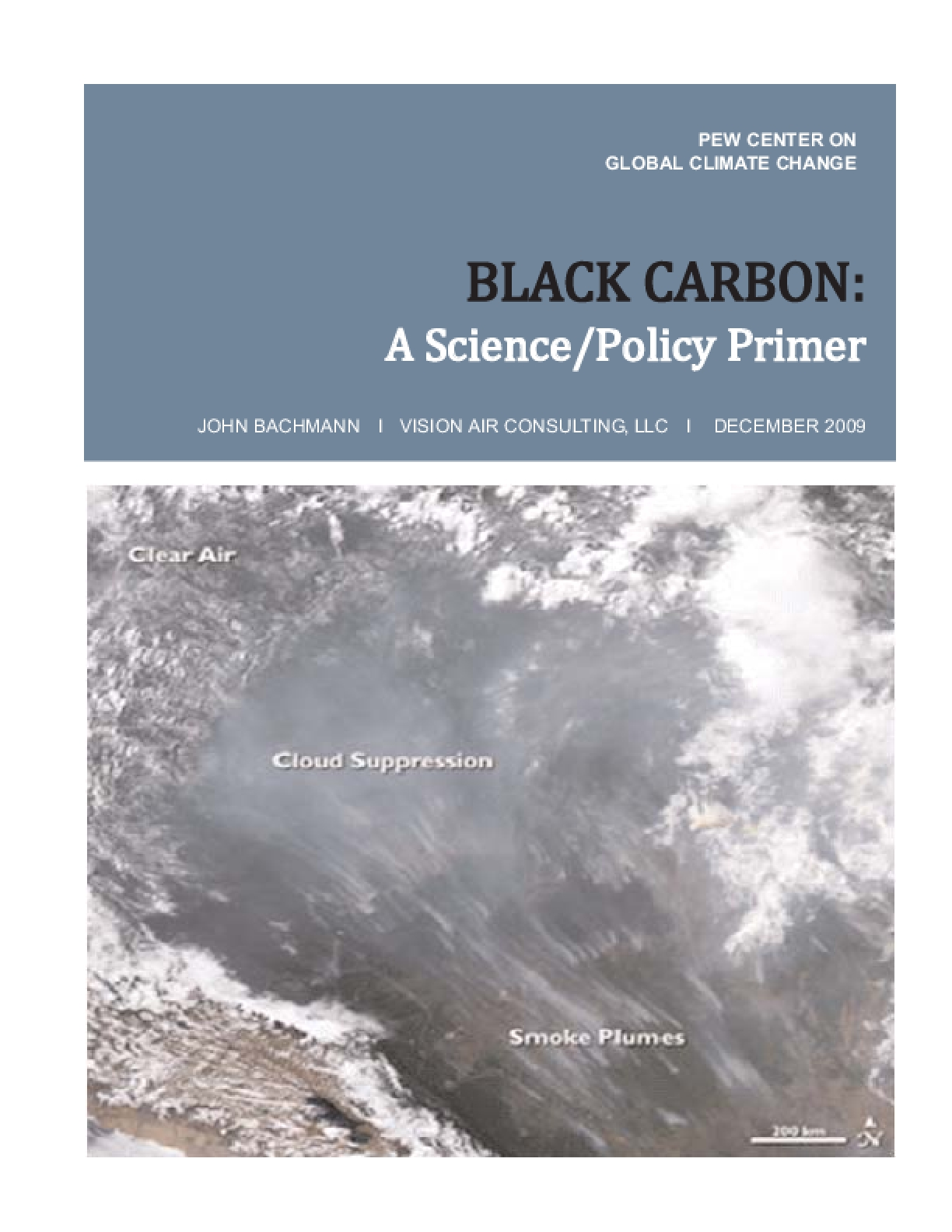 Black Carbon: A Science/Policy Primer