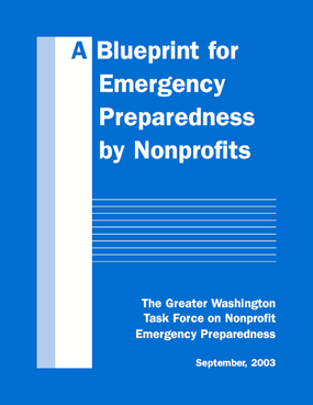 A Blueprint for Emergency Preparedness by Nonprofits