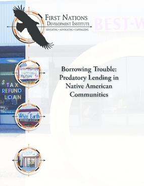 Borrowing Trouble: Predatory Lending in Native American Communities