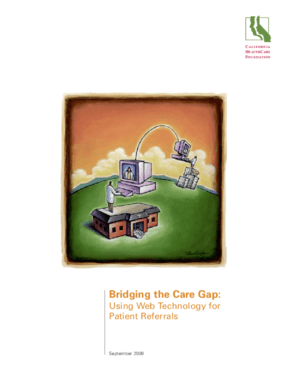 Bridging the Care Gap: Using Web Technology for Patient Referrals