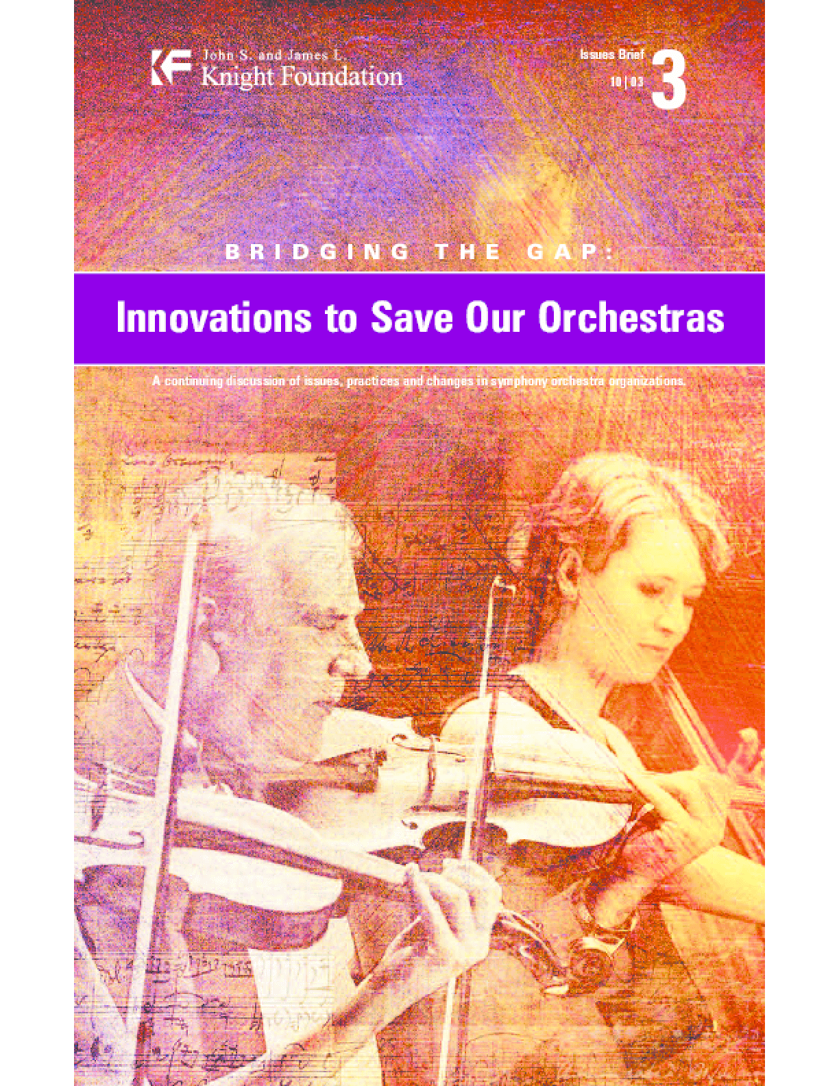 Bridging the Gap: Innovations to Save Our Orchestras