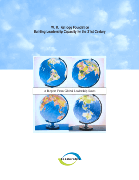 Building Leadership for the 21st Century: A Report From Global Leadership Scans