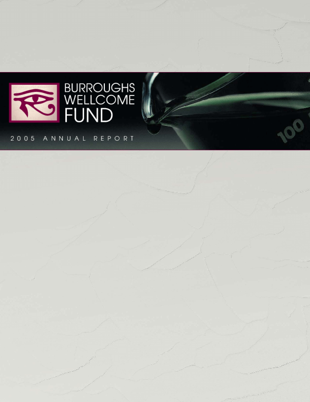 Burroughs Wellcome Fund - 2005 Annual Report