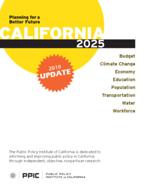 California 2025: Planning for a Better Future