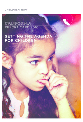 California Report Card, 2010