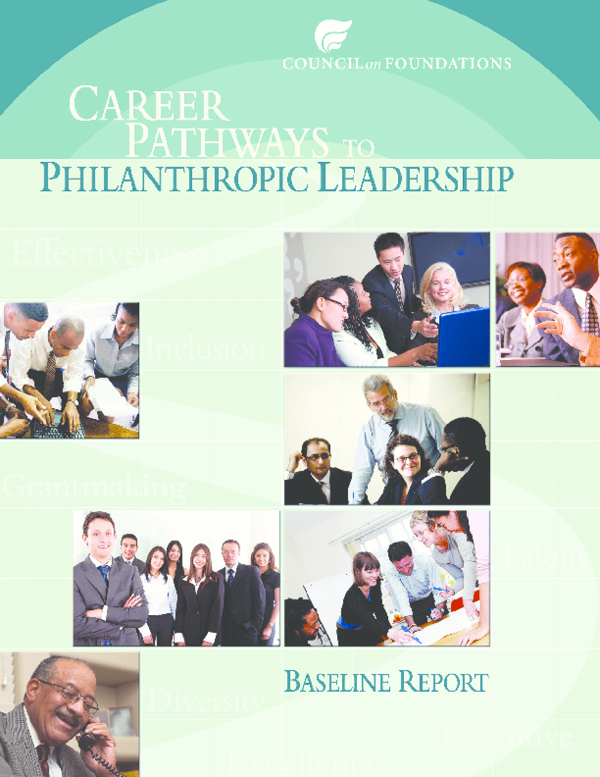 Career Pathways to Philanthropic Leadership 2009 Baseline Report
