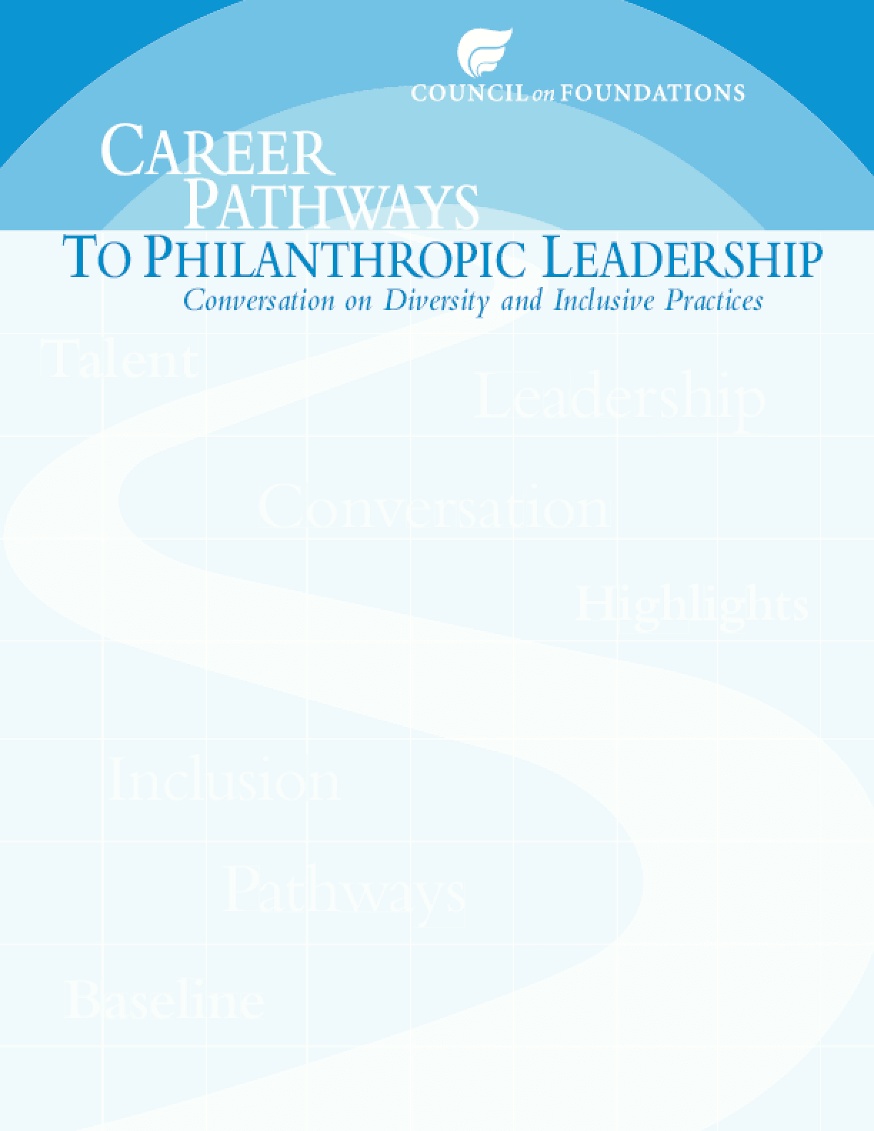 Career Pathways to Philanthropic Leadership: Conversation on Diversity and Inclusive Practices