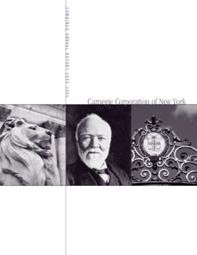 Carnegie Corporation of New York - 2004-2005 Annual Report