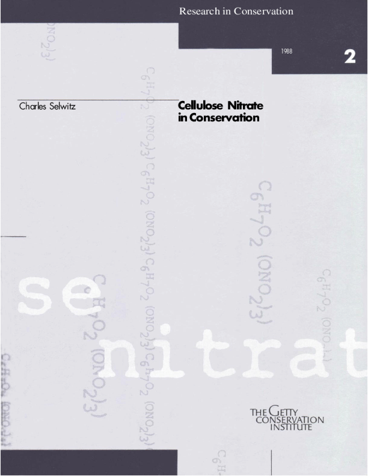 Cellulose Nitrate in Conservation