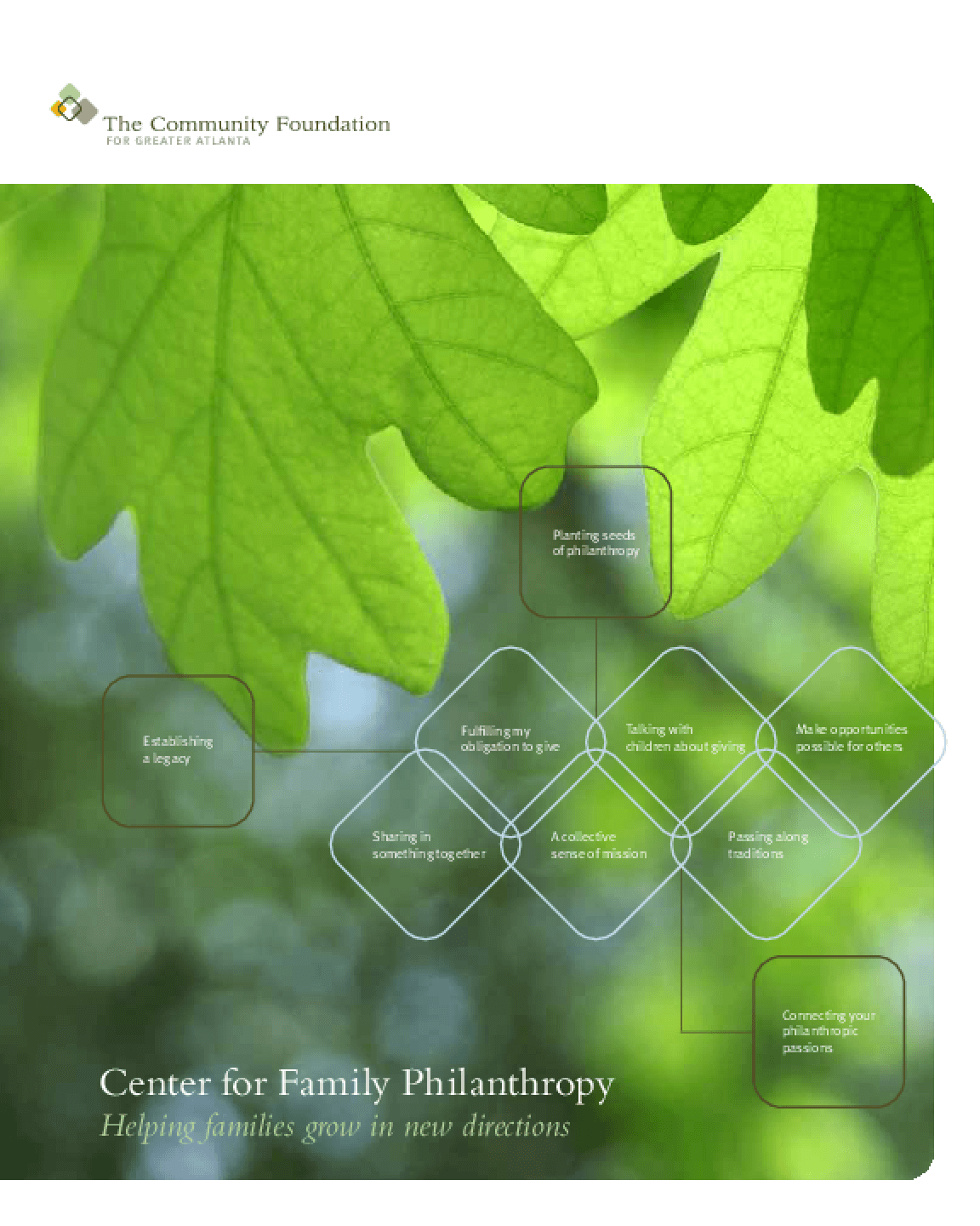 Center for Family Philanthropy: Helping Families Grow in New Directions