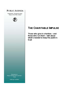 The Charitable Impulse