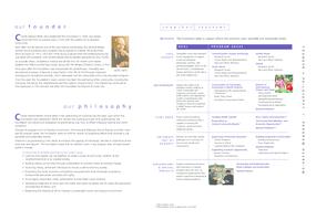 Charles Stewart Mott Foundation - 2001 Annual Report