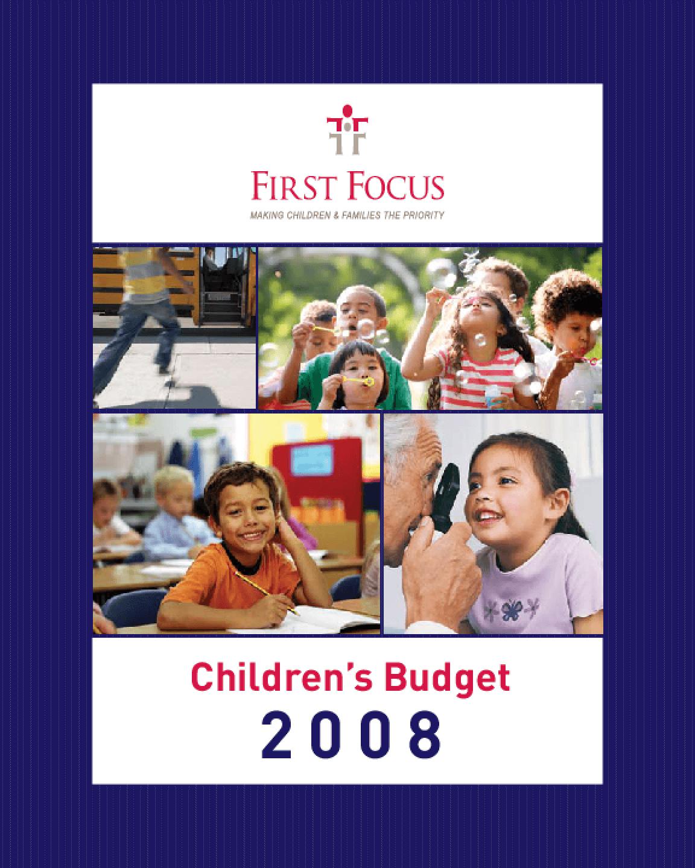 Children's Budget 2008