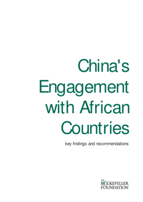 China's Engagement With African Countries: Key Findings and Recommendations