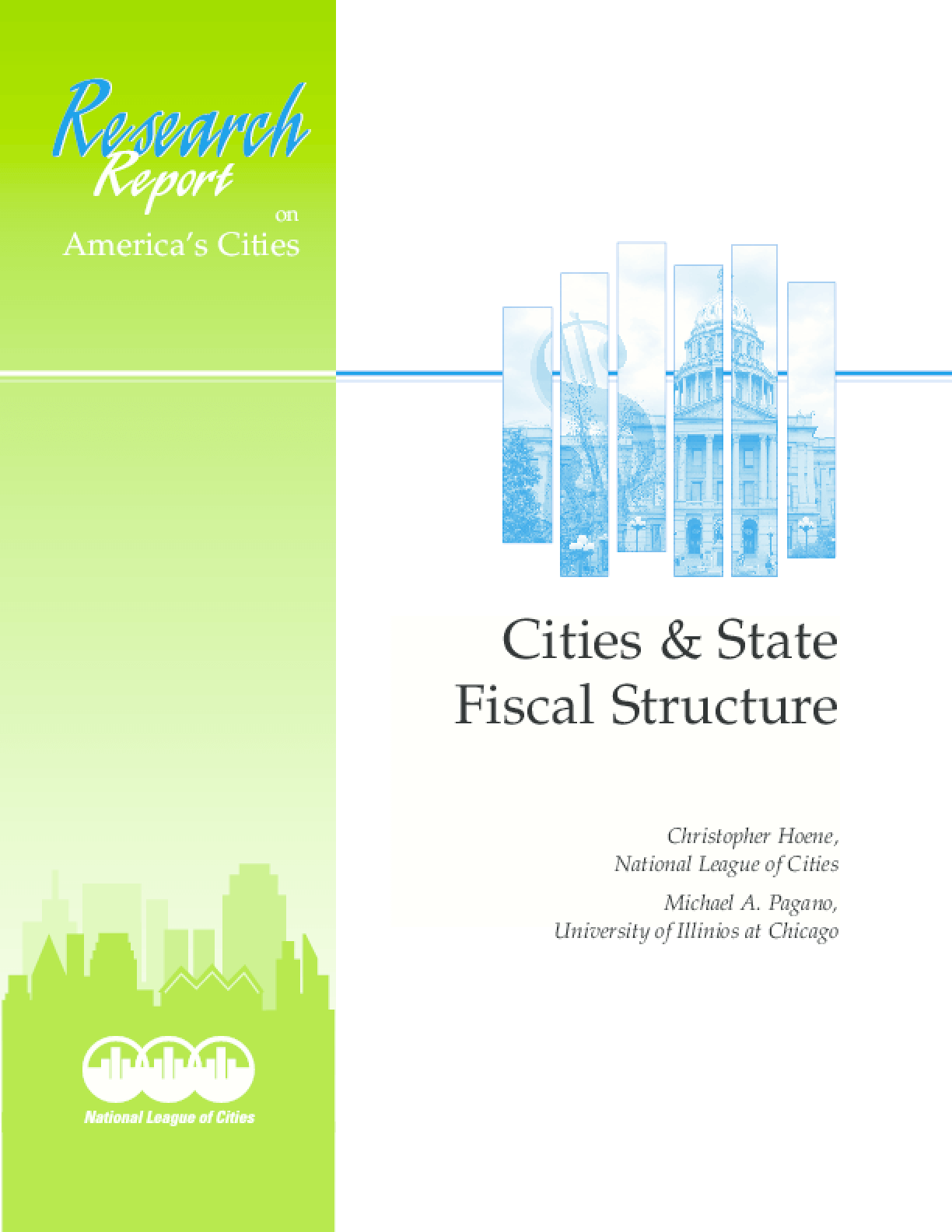 Cities and States Fiscal Structure