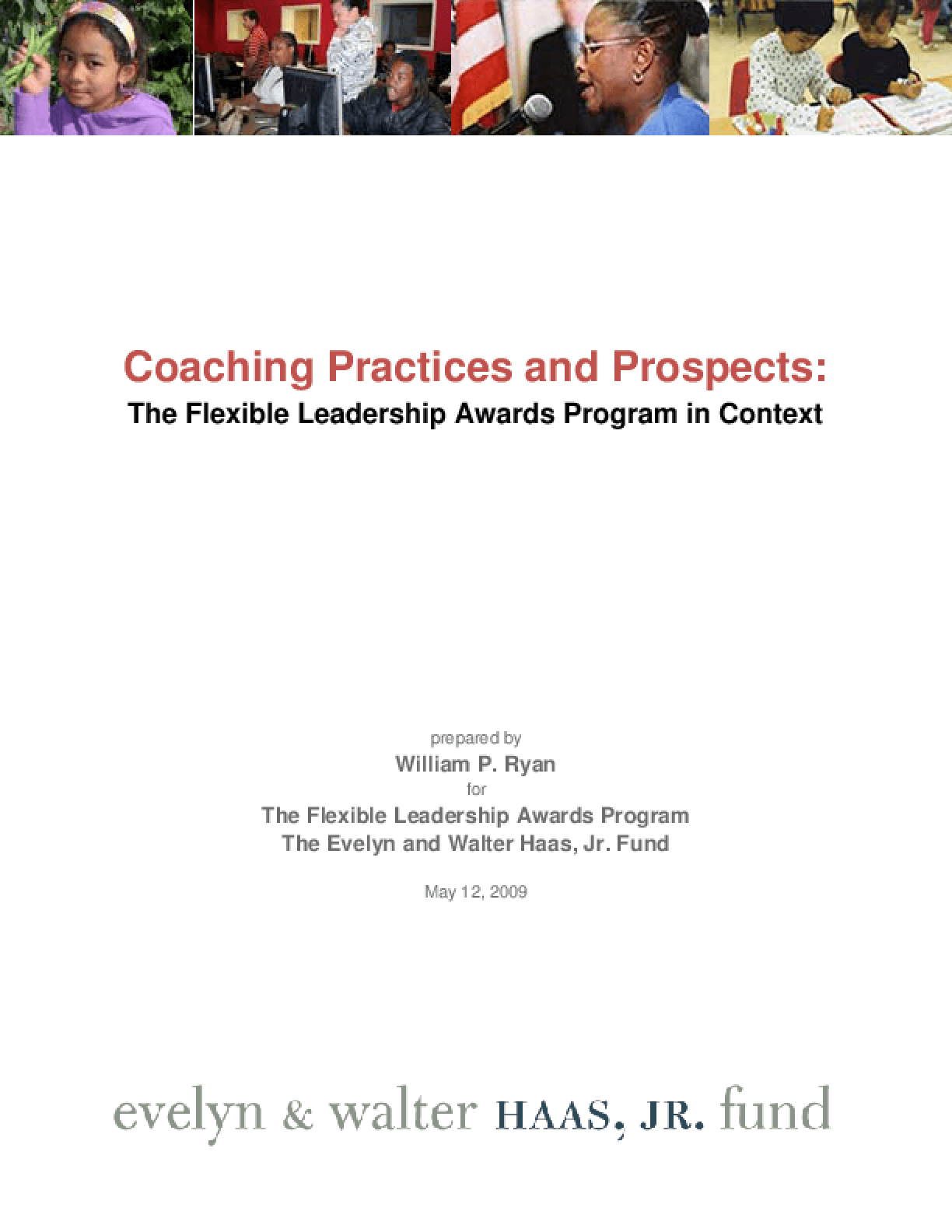 Coaching Practices and Prospects: The Flexible Leadership Awards Program in Context