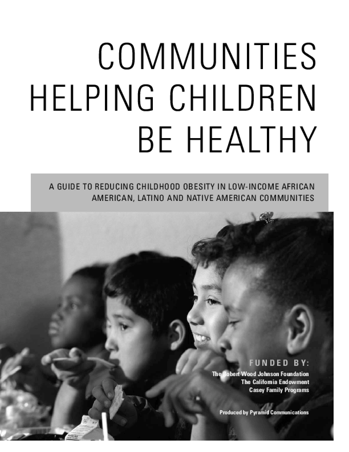 Communities Helping Children Be Healthy
