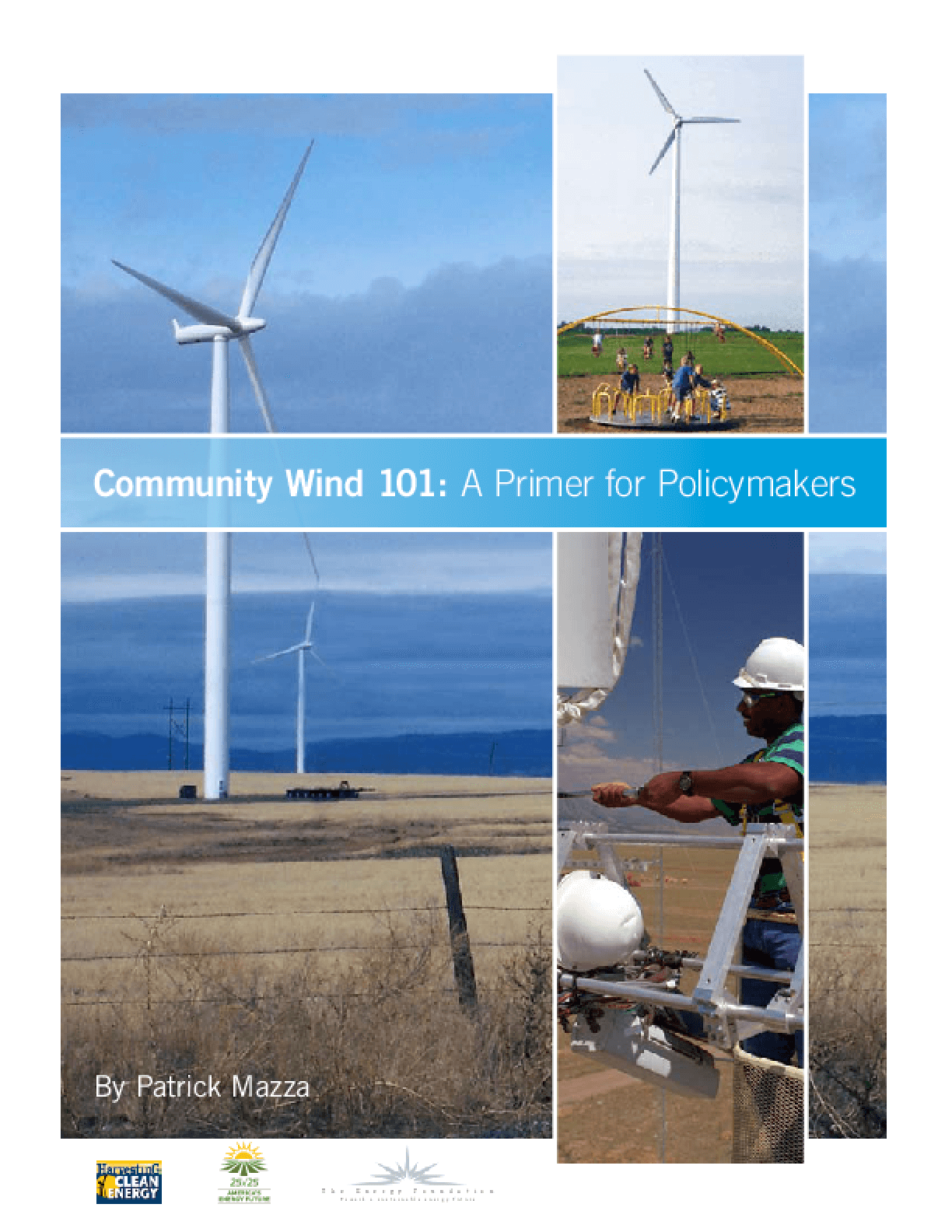 Community Wind 101: A Primer for Policymakers