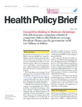 Competitive Bidding in Medicare Advantage