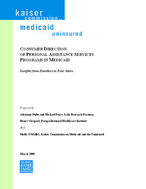 Consumer Direction of Personal Assistance Services Programs in Medicaid: Insights From Enrollees in Four States