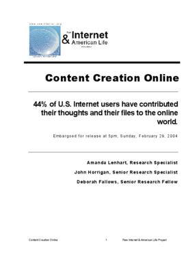 Content Creation Online
