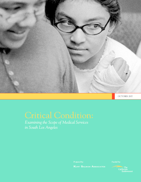 Critical Condition: Examining the Scope of Medical Services in South Los Angeles