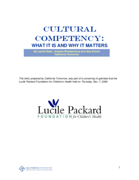 Cultural Competency: What It Is and Why It Matters