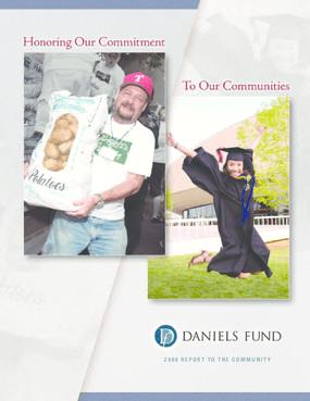 Daniels Fund - 2008 Annual Report