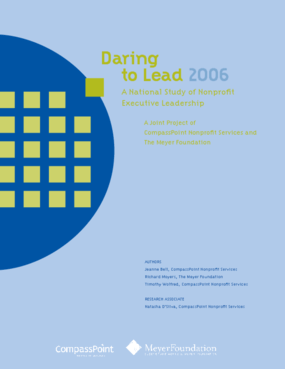 Daring to Lead 2006