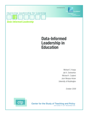 Data-Informed Leadership in Education