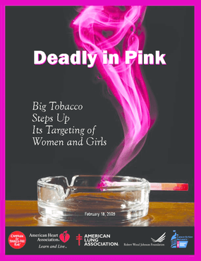 Deadly in Pink: Big Tobacco Steps Up Its Targeting of Women and Girls