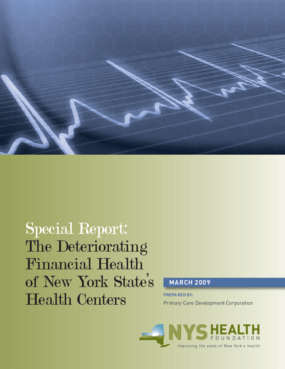 The Deteriorating Financial Health of New York State's Health Centers