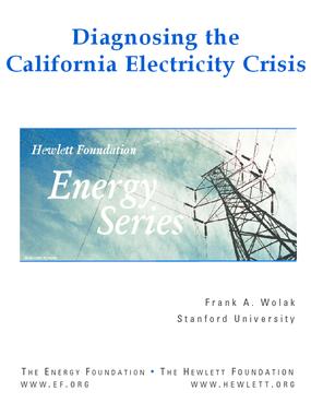 Diagnosing the California Electricity Crisis