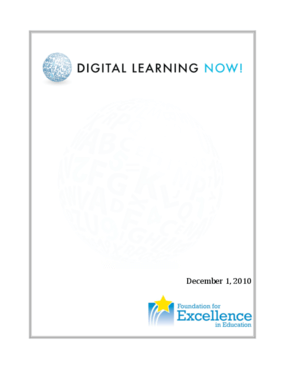 Digital Learning Now!