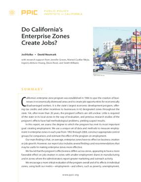 Do California's Enterprise Zones Create Jobs?