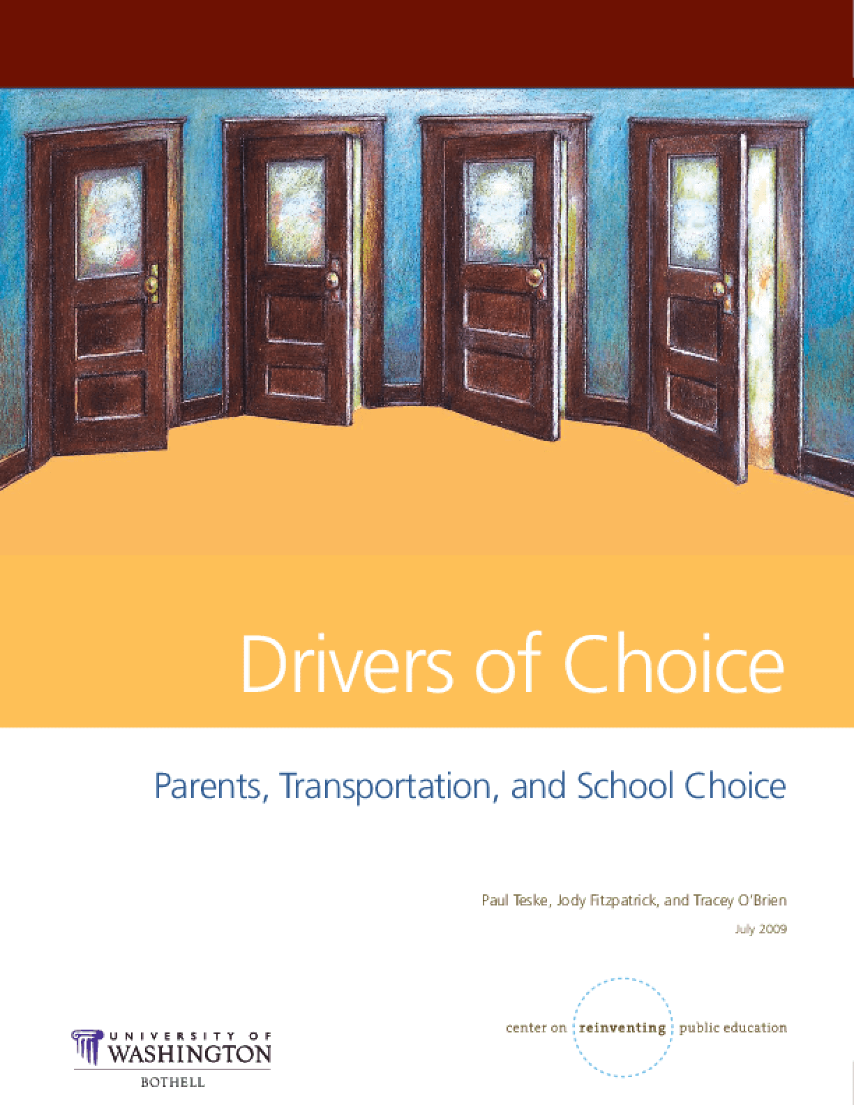 Drivers of Choice: Parents, Transportation, and School Choice