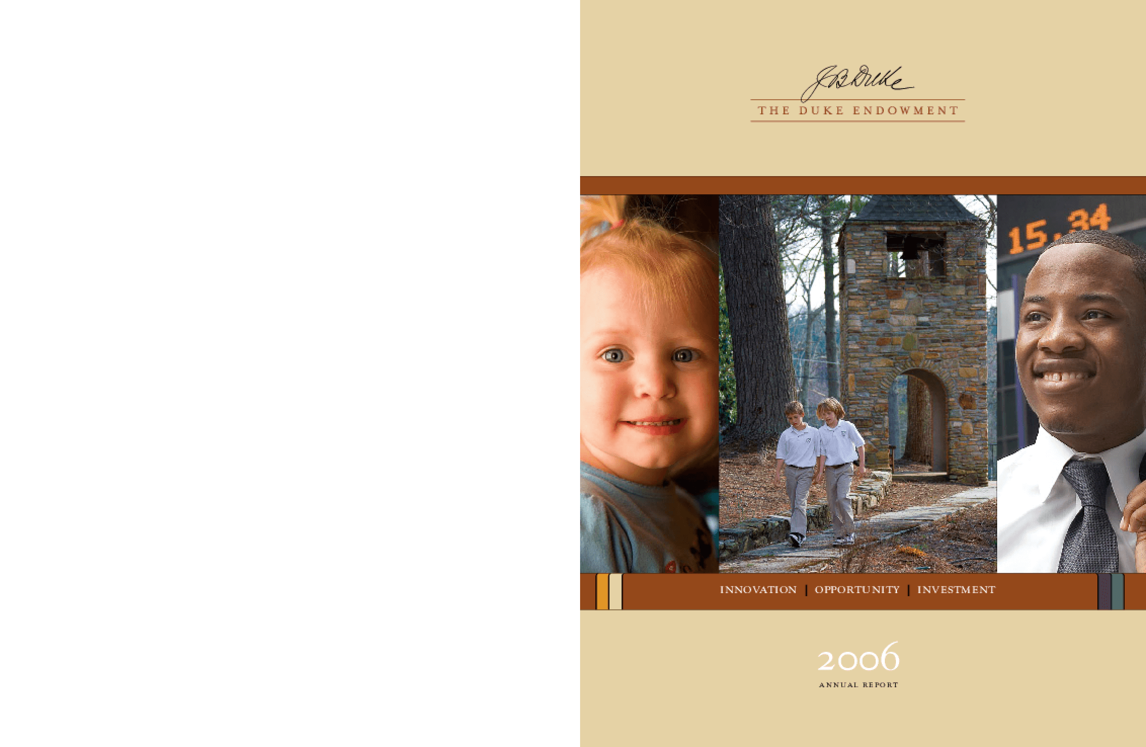Duke Endowment - 2006 Annual Report